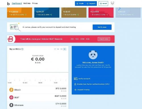 Bitpanda Desktop Trading Platform: