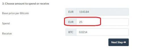 Bitpanda Currency Select