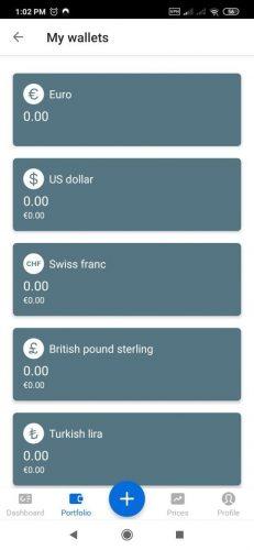 Bitpanda Wallets