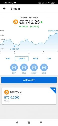 Bitpanda Bitcoin Wallet