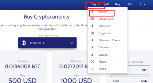 Coinmama Screenshot